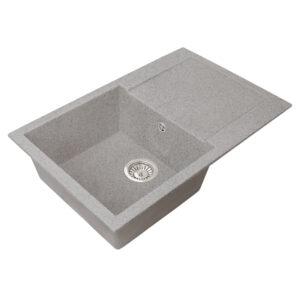 Խոհանոցային լվացարան GS-25 մուգ մոխրագույն Gran-Stone