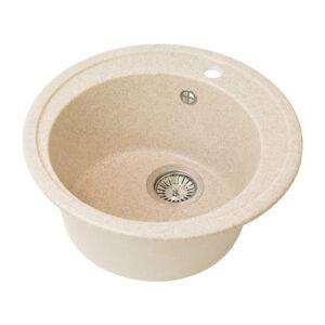 Խոհանոցային լվացարան GS-02 բեժ Gran-Stone