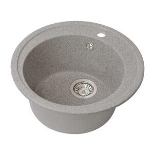 Խոհանոցային լվացարան GS-02 մուգ մոխրագույն Gran-Stone