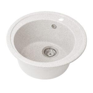 Խոհանոցի լվացարան GS-02 մոխրագույն Gran-Stone